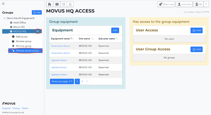 Manage Group Access-1